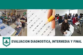 Evaluación diagnóstica intermedia y final